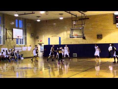 Ardit Veliu#33 James Madison HighSchool Varsity Basketball 2014-2015