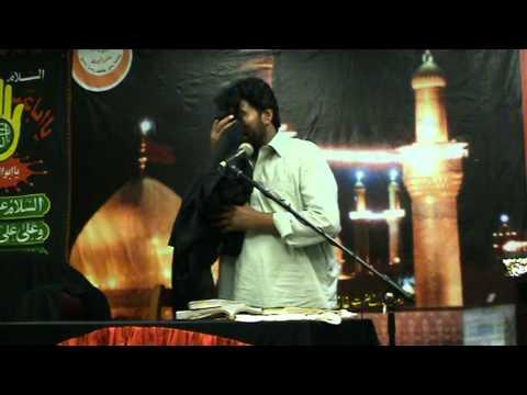 akhtar khokhar bcn 21 08 2011 shahadat mola ali a s  20 ramazan in spain barcelona  day 1  8