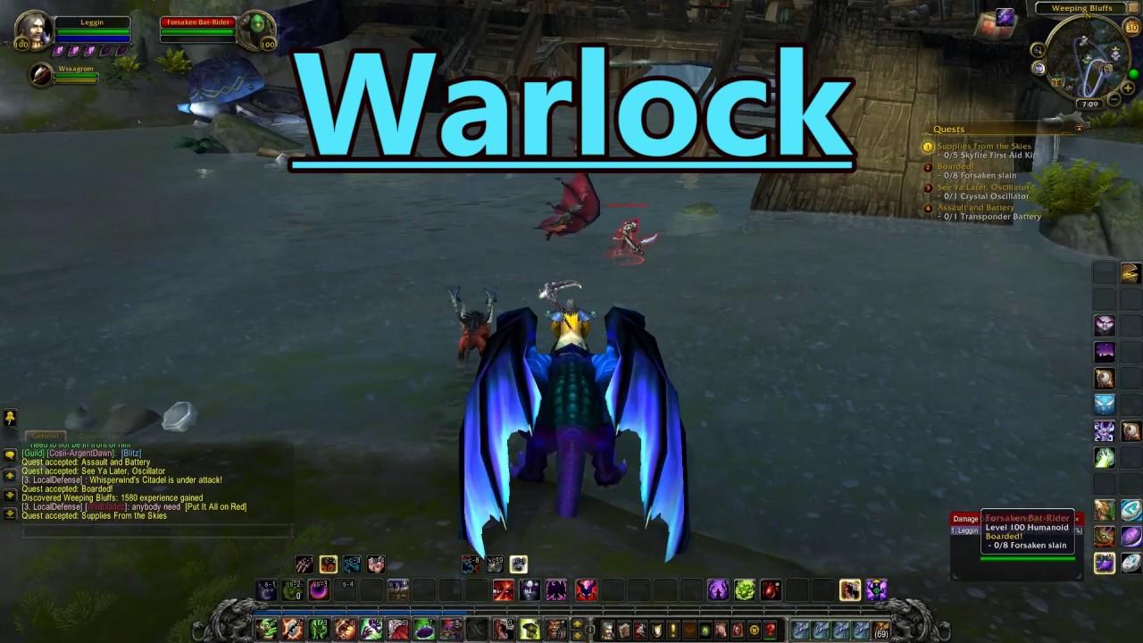 WoW: Warlock Gameplay 2017 - World of Warcraft | Legion 2017 Gameplay