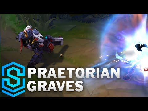 Praetorian Graves Skin Spotlight - League of Legends