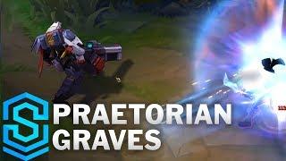 Praetorian Graves Skin Spotlight Pre Release League Of Legends