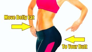 Move Your Belly Fat to Your Butt  - POWERFUL!  - Subliminals - Binaurals - Frequencies
