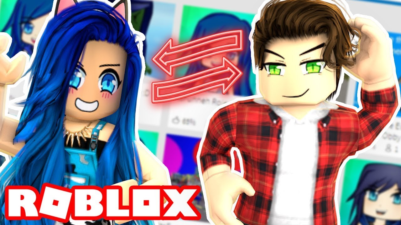 PLAYING FUNNY FAN MADE GAMES IN ROBLOX!