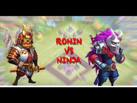 Castle Clash Ronin Vs Ninja 5/8 Scater