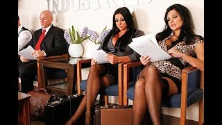 Aletta Ocean And Her Friend Audrey Bitoni Waiting For Job Interview