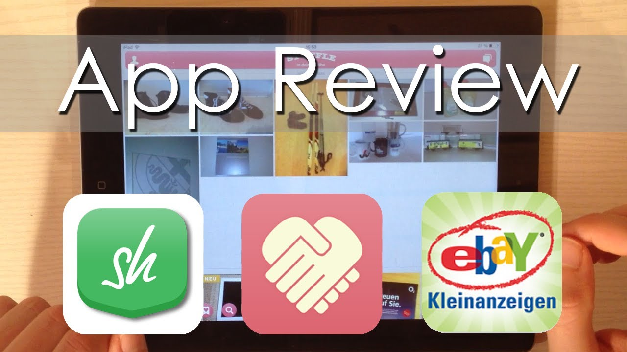 App Review Flohmarkt Apps Deutsch Youtube