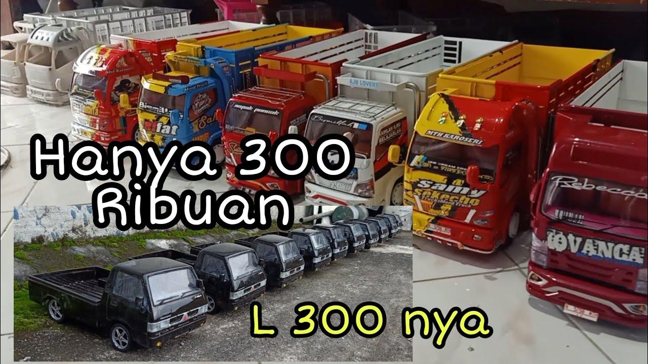 Miniatur truk dan Miniatur L 300 Harganya Cuman 300
