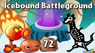 Plants vs Zombies 2: Master It Icebound Battleground Level 71! (Frostbite Caves Part 2)