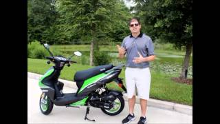 Bintelli Scooters - 49cc Scorch Motor Scooter Review - Wholesale Scooter for Sale
