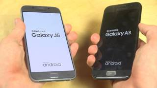 Samsung Galaxy J5 2017 vs. Samsung Galaxy A3 2017 - Which Is Faster?