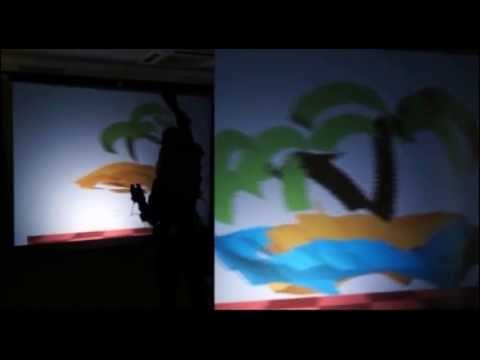 Towards Bi-Manual 3D Painting: Generating Virtual Shapes with Hands (SUI 2013)