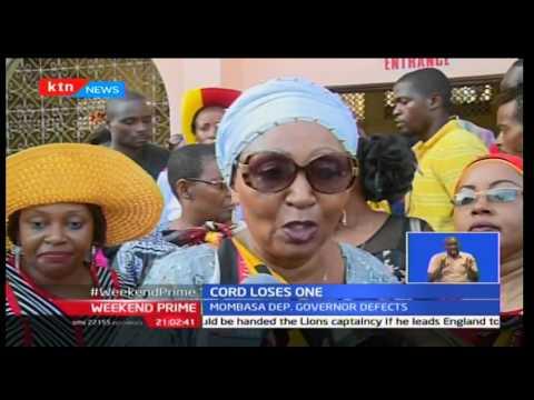 Weekend Prime: Mombasa Deputy Governor Hazel Katana defects to Jubilee from ODM