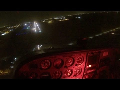 Total Electrical Failure at NIGHT - Low time pilot - POV Flying