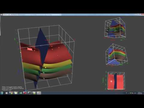 3D Structural Geological Modeling in Python with Gempy - Tutorial