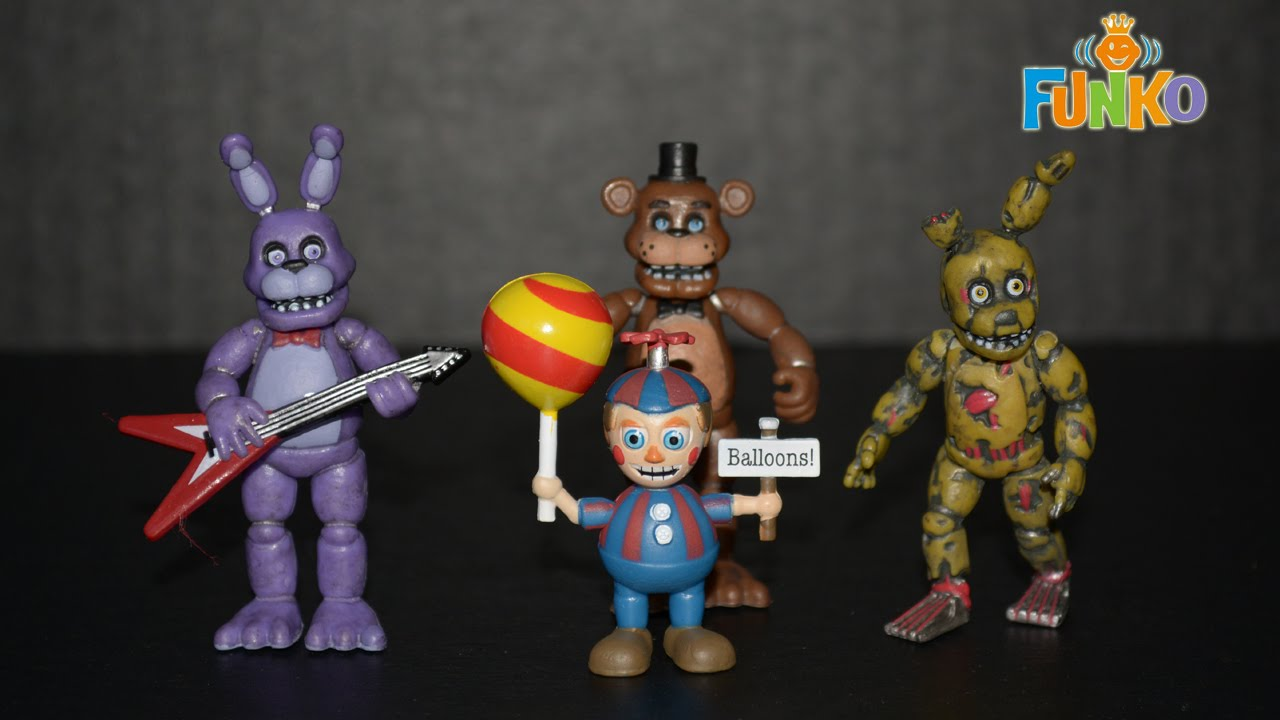 Funko Five Nights at Freddy's Collectible Vinyl Figure Set - Set Two - 4K