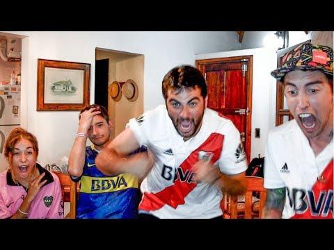River 1 Boca 0   Superclásico Verano 2018   Reacciones de amigos
