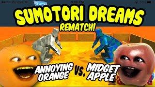 Annoying Orange Let's Play Sumotori Dreams