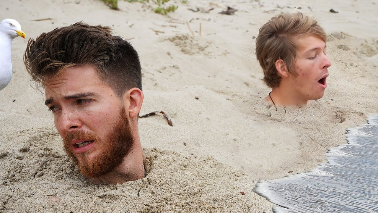 Download Last to Stay Buried Wins $10,000 - Beach Challenge