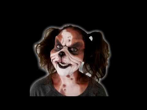 Grrrouch dog prosthetic makeup how to