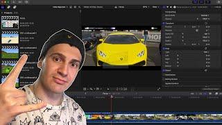 Стрим по монтажу видео в Final Cut Pro X