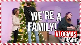 WE RE A FAMILY | Vlogmas Day #5