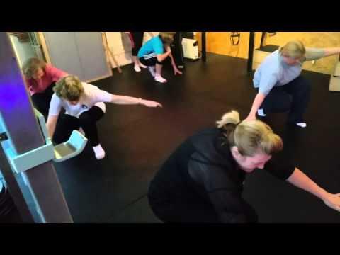 Deaf Movecamp at AM Fitness, Terenure, Dublin,