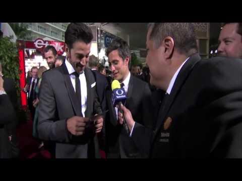 Diego Luna y Gael Garcia en los Globos de Oro