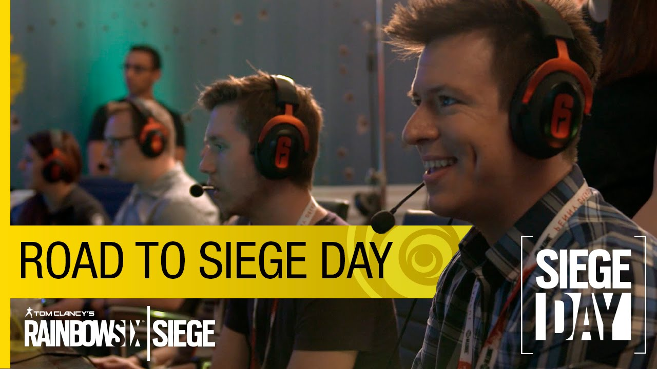 Tom Clancy's Rainbow Six Siege Official - Road to Siege Day [US]