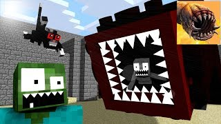 Monster School : Death Worm - Minecraft Animation