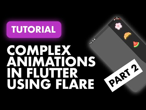 Complex Animations in Flutter Using Rive - Part 2
