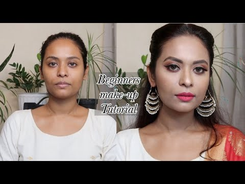 STEP BY STEP MAKEUP TUTORIAL For BEGINNERS | HOW to Do Makeup(HINDI)