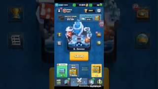 Clash royal 6, 7, 8.  Arena kazandiran deste