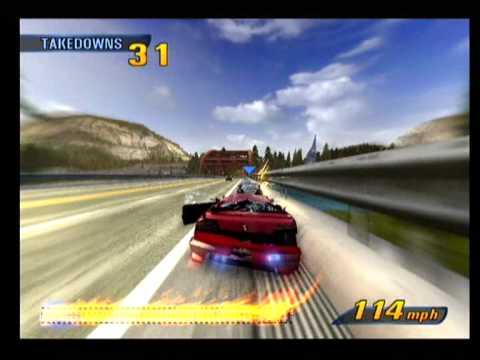 Burnout 3 Takedown Ps2 Gameplay