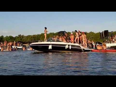 Fiestas sobre lanchas, el nuevo descontrol que perturba al río