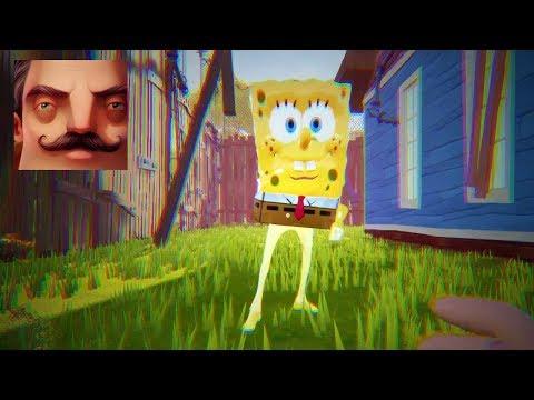 Hello Neighbor - SpongeBob Act 2 Door