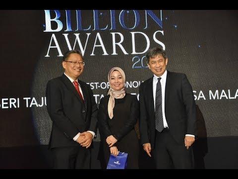 EXIM Bank Malaysia at Best Under Billion Awards 2017