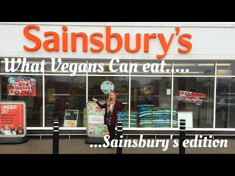What VEGAN'S can eat: Sainsbury's edition :) UK