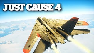 Just Cause 4 Jet Fighter Gameplay PC