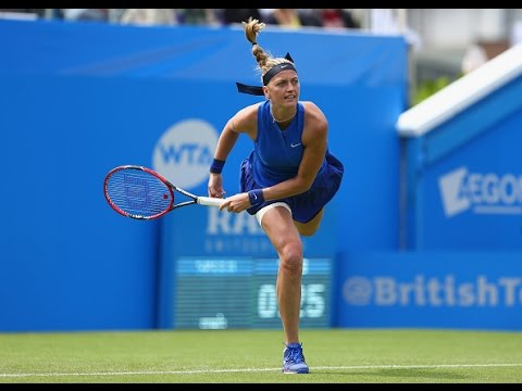 2016 Aegon International Second Round | Petra Kvitova vs Timea Babos | WTA Highlights