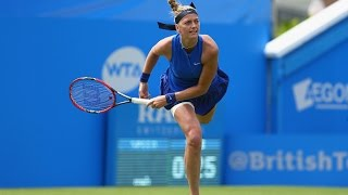 2016 Aegon International Second Round | Petra Kvitova vs Timea Babos | WTA Highlights