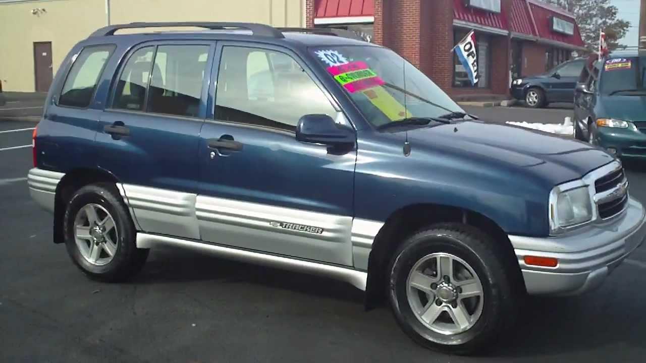 All Chevy 2002 chevrolet tracker parts : 02 Chevrolet Tracker 4x4 - YouTube