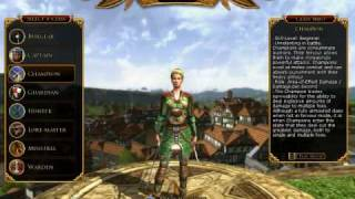 The Lord of the Rings Online Character Creation