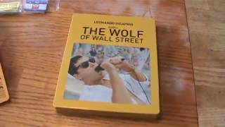 The Wolf of Wall Street Target Exclusive Blu-Ray Steelbook Unboxing