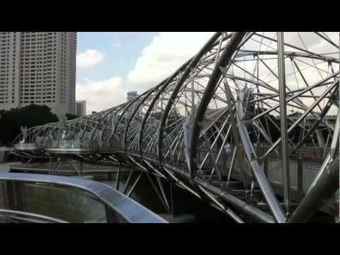 Singapore - The Helix Bridge (Double Helix Bridge)