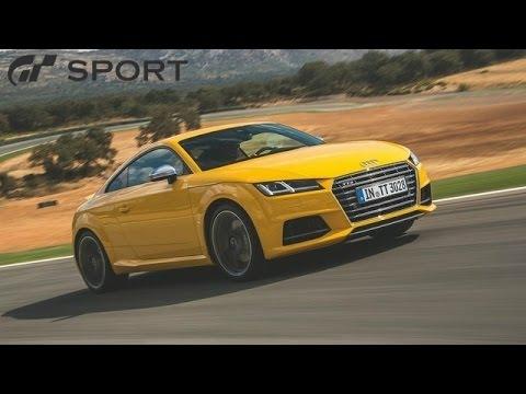 GT SPORT - Audi TT-S Car Review