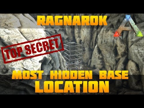 ARK BEST HIDDEN BASE LOCATION #3 Low Profile On Pvp
