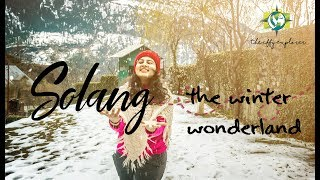 Solang Valley in Winters | Manali Travel Vlog | The Iffy Explorer
