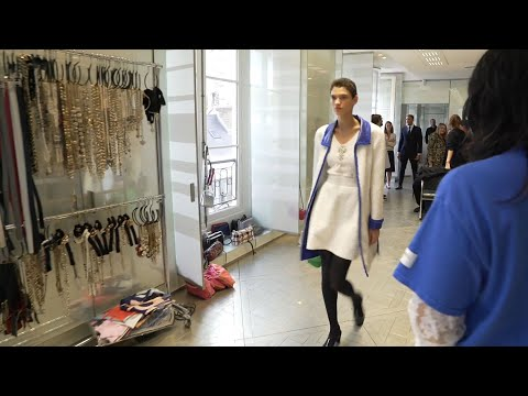 Final Fittings With Virginie Viard  - Spring-Summer 2020 Show - CHANEL