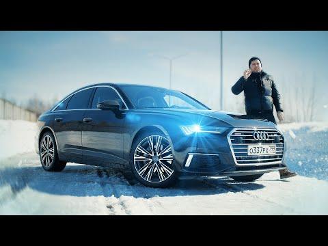 Audi A6 Самый мощный дизель. Тест-драйв. Anton Avtoman.