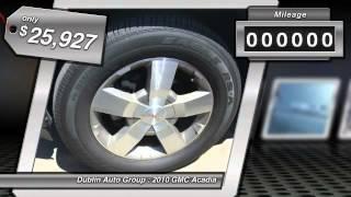 2010 GMC Acadia for sale in Dublin, CA - Dublin Chevrolet, Cadillac, Buick, GMC and Kia G5